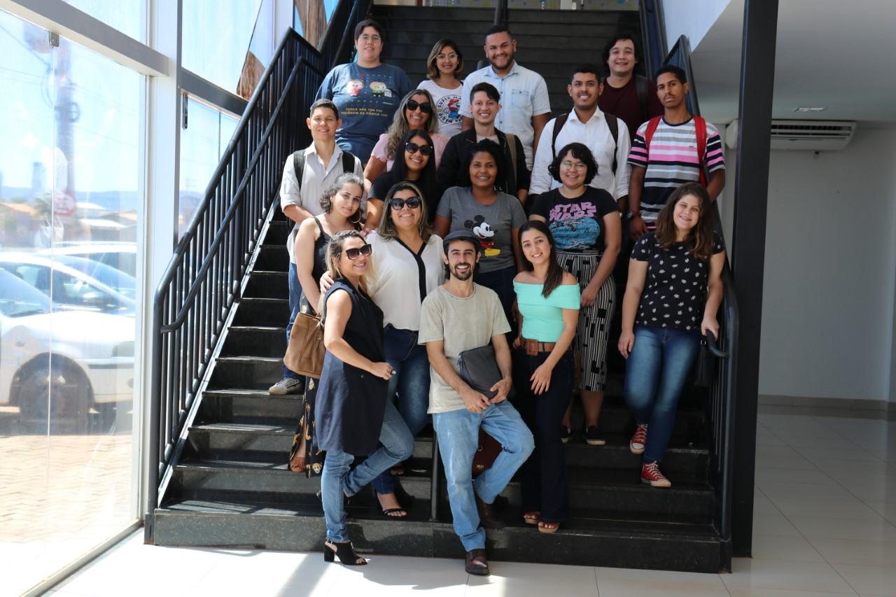 No Dia da Fotografia, servidores têm workshop sobre fotojornalismo e metadados