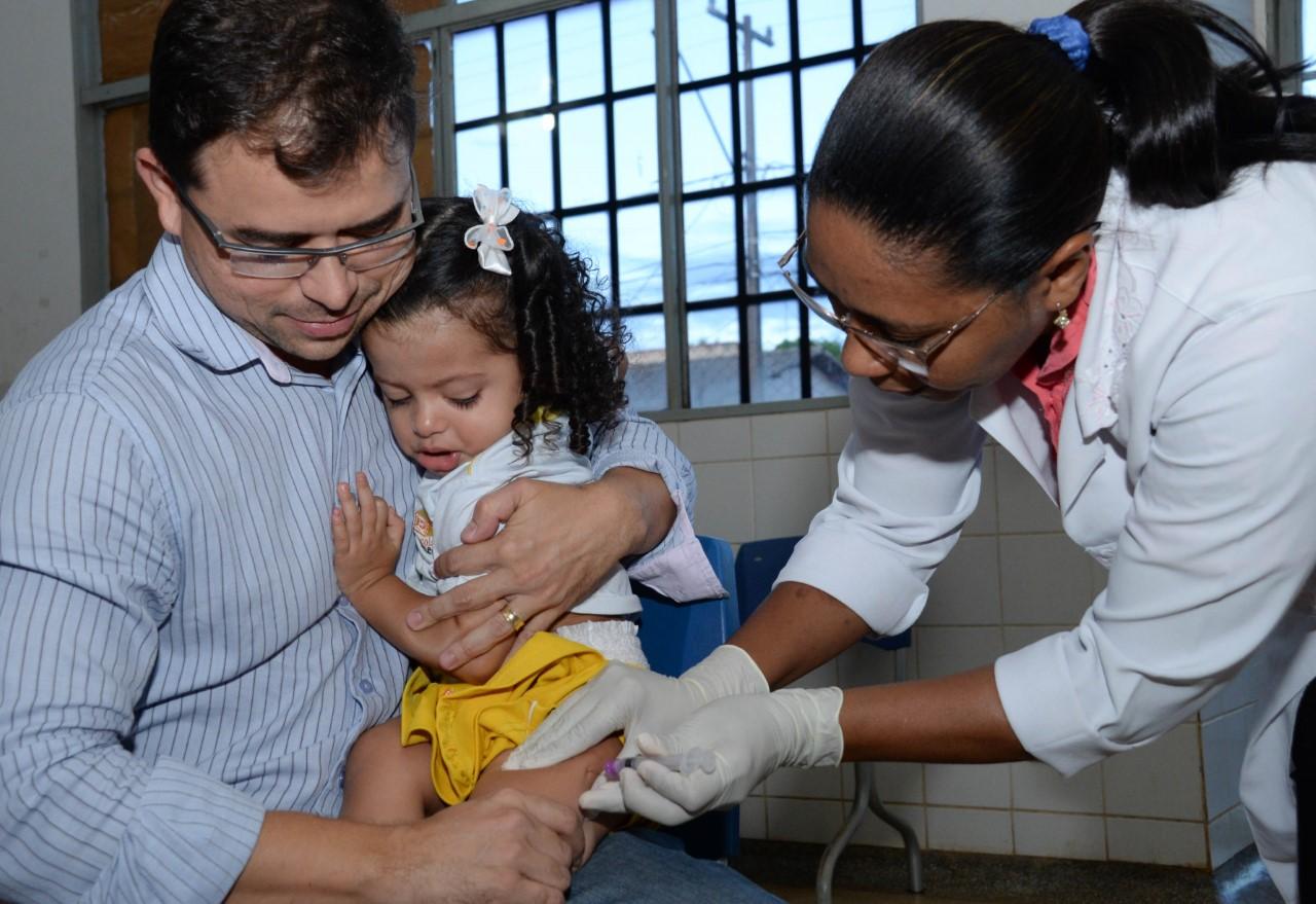 Mesmo sem casos de Sarampo, Palmas reforça a vacinação contra a doença