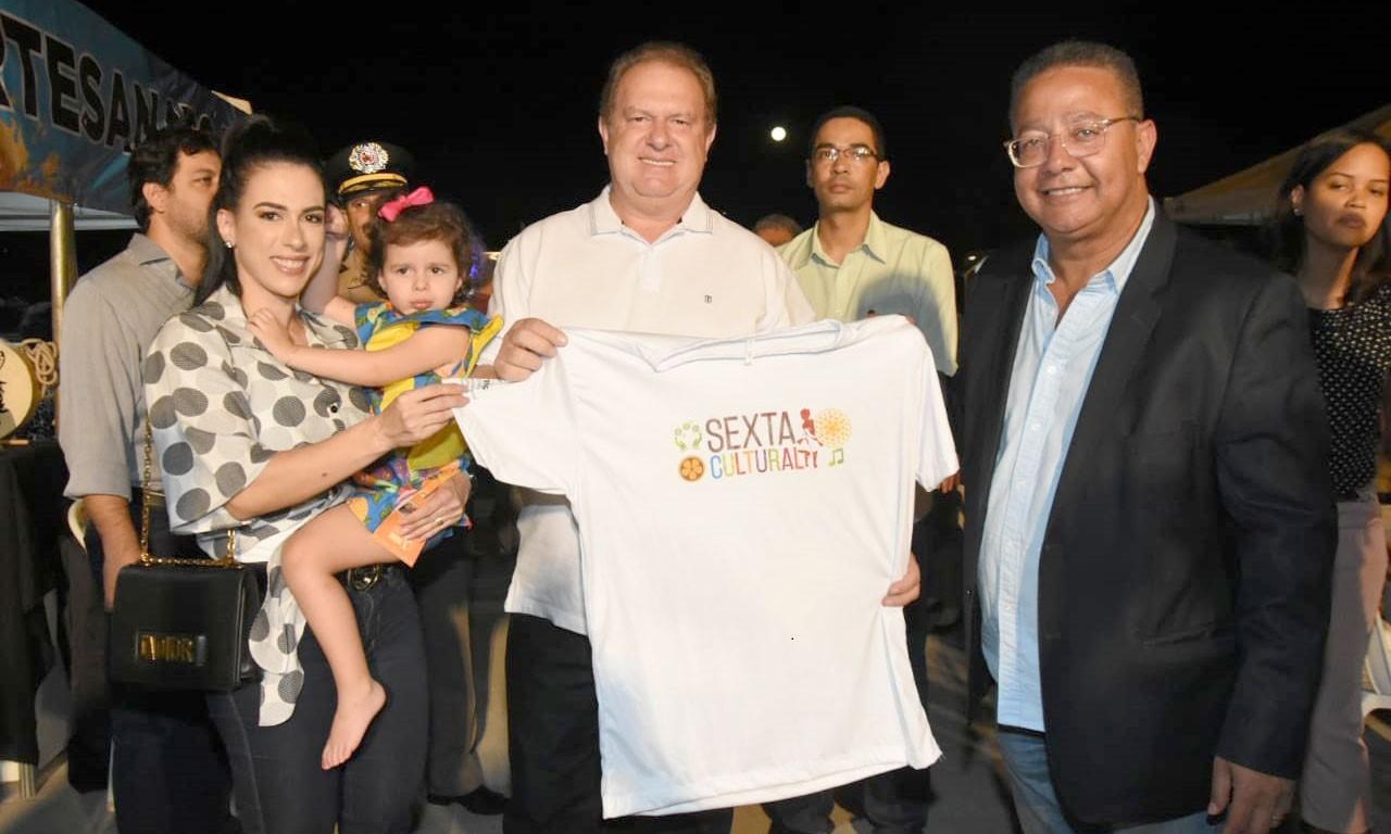 Governador Carlesse e primeira-dama prestigiam a primeira edição do projeto Sexta Cultural