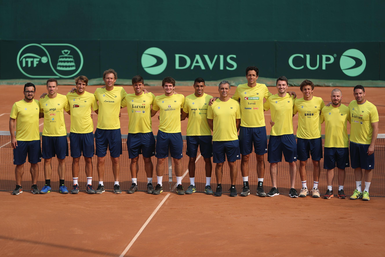 Copa Davis: Marcelo Melo e Bruno Soares jogam neste sábado (14) às 11 horas