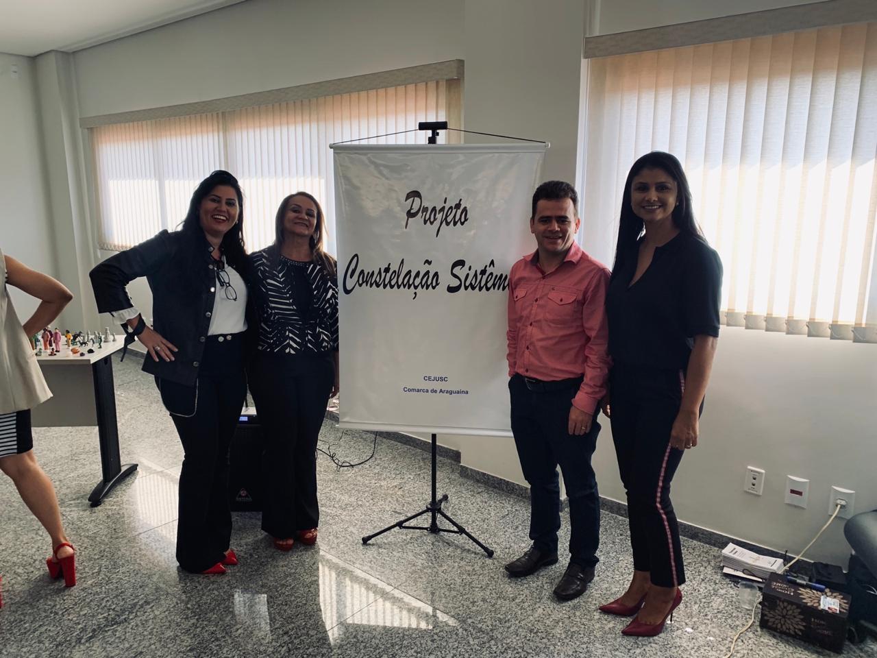CEJUSC de Araguaína realiza Projeto Constelação Sistêmica para estimular autocomposição entre as partes