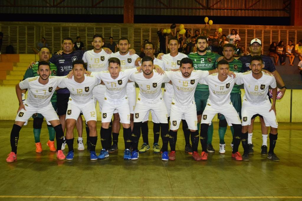 Katrina estreia com vitória na Série Ouro do Tocantinense de Futsal