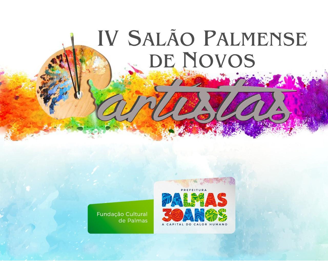 Inscrições para o Salão Palmense de Novos Artistas são prorrogadas até 20 de setembro