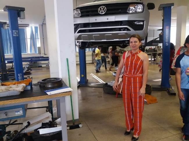 Secretária de Assistência Social de Marianópolis participa de encontro promovido pelo Sistema Fieto