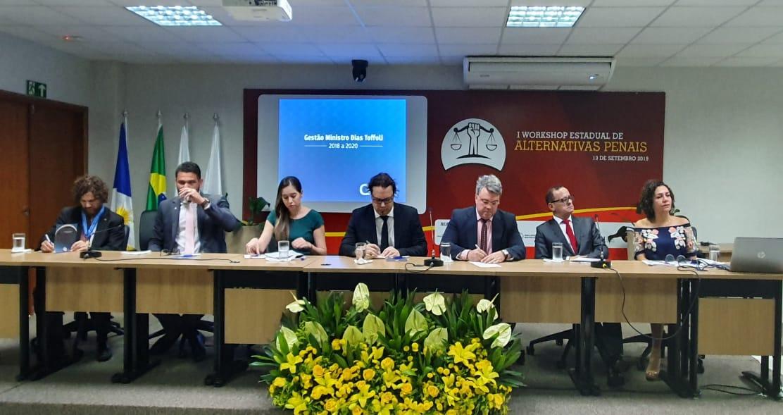 I Workshop de Alternativas Penais foi realizado com intuito de fortalecer a política no Tocantins