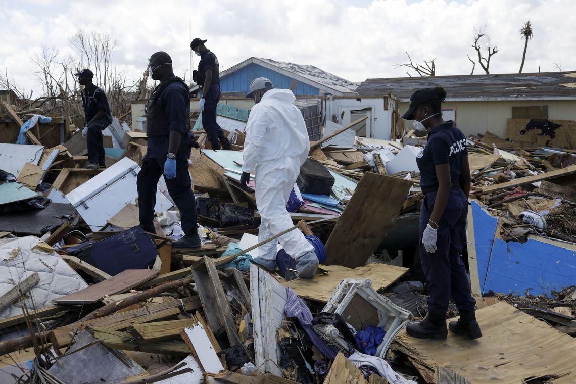 Dorian: cerca de 2.500 pessoas continuam desaparecidas nas Bahamas