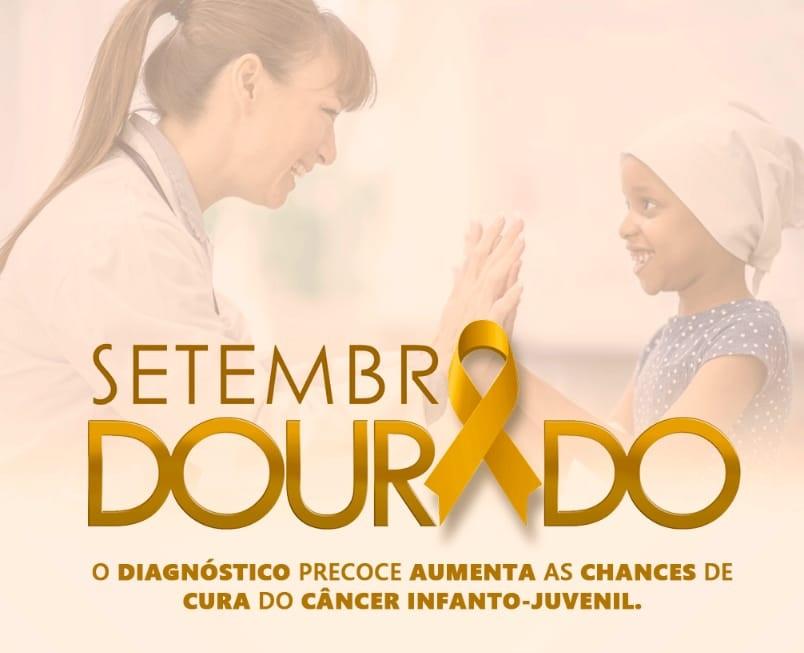 Setembro é o mês Dourado para falar sobre o câncer infantojuvenil