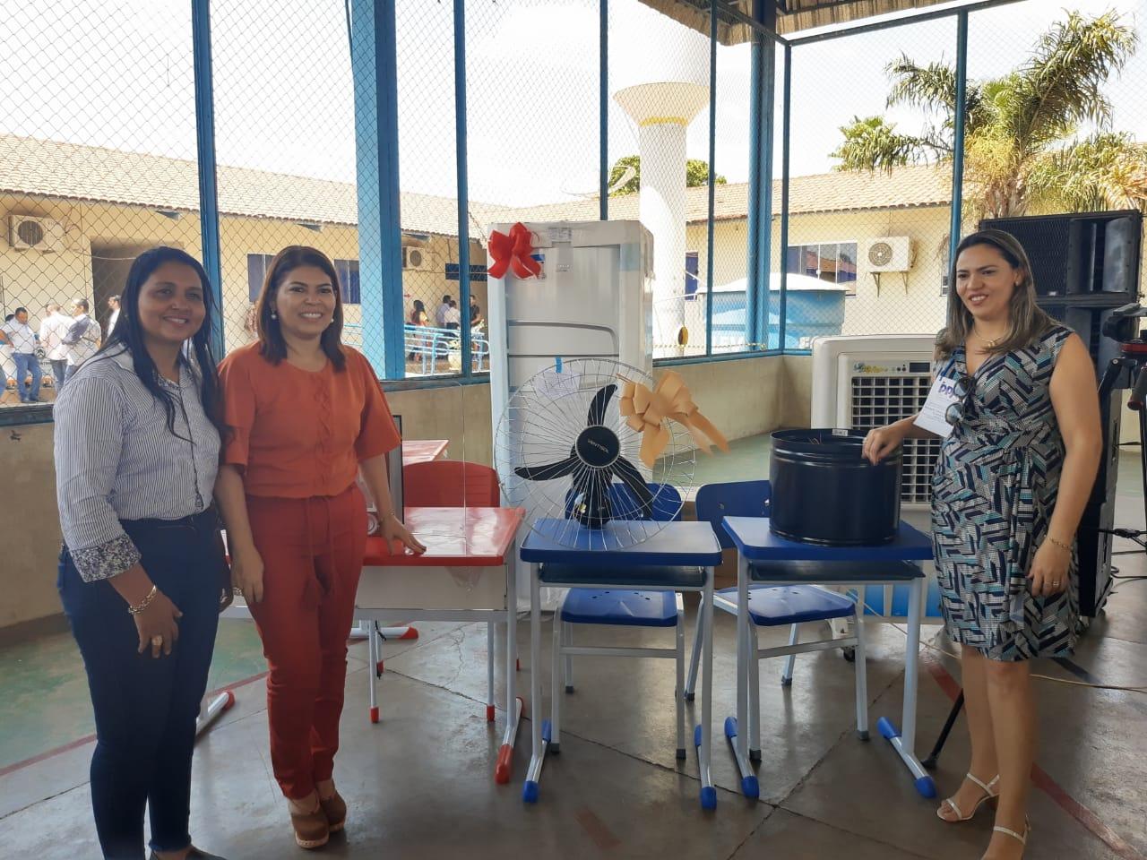 Escolas de Colinas e região recebem equipamentos educacionais durante consulta pública do PPA