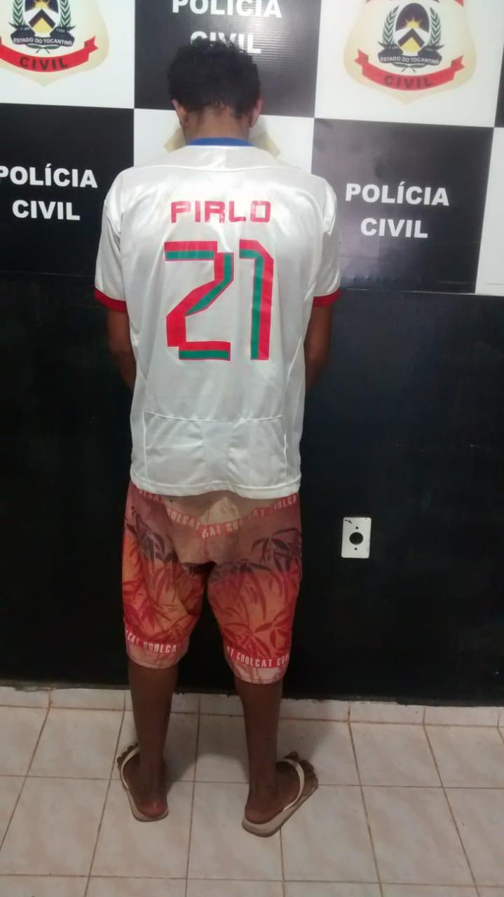Suspeito de furtar celular é preso pela Polícia Civil em Taguatinga TO