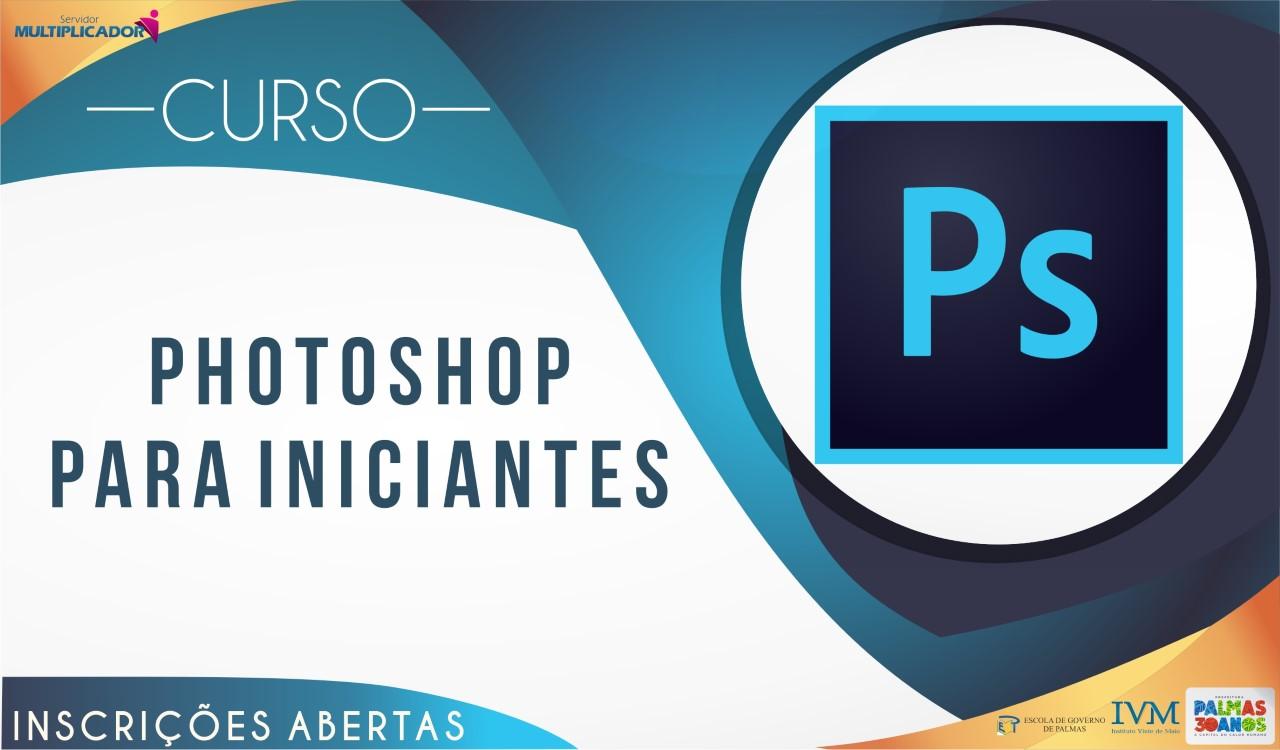 Abertas as inscrições para o curso de 'Photoshop para Iniciantes'