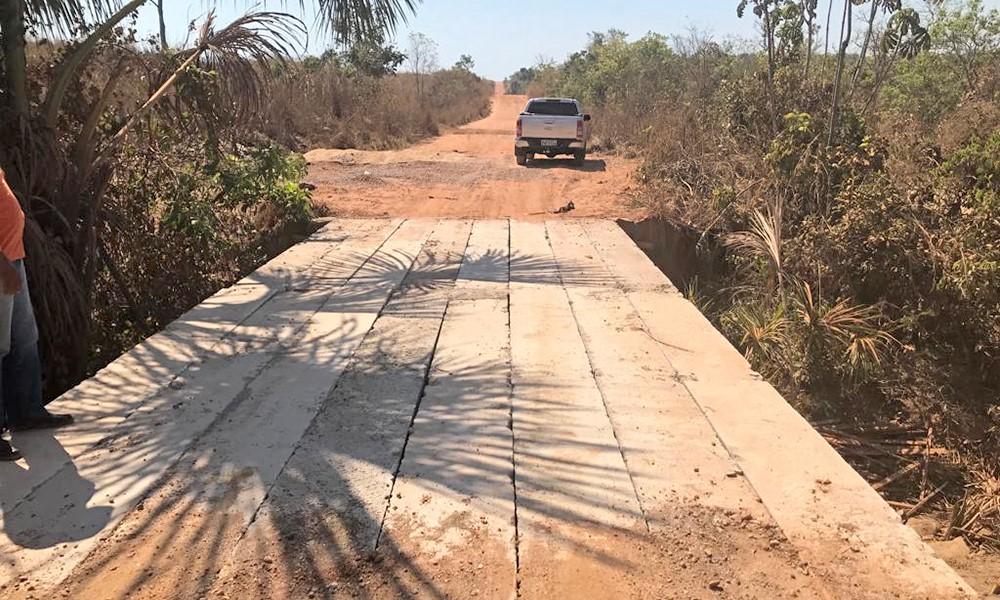 Ponte sobre o córrego Jesuíta na TO-040 é concluída e tráfego é liberado