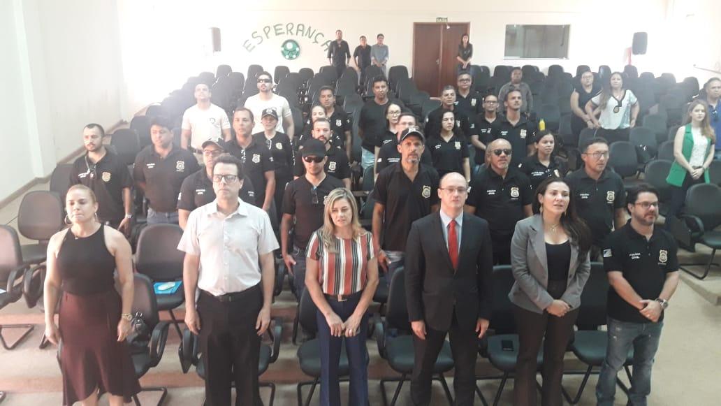 Profissionais da Segurança Pública aprovam aulas da Academia Itinerante em Colinas do Tocantins