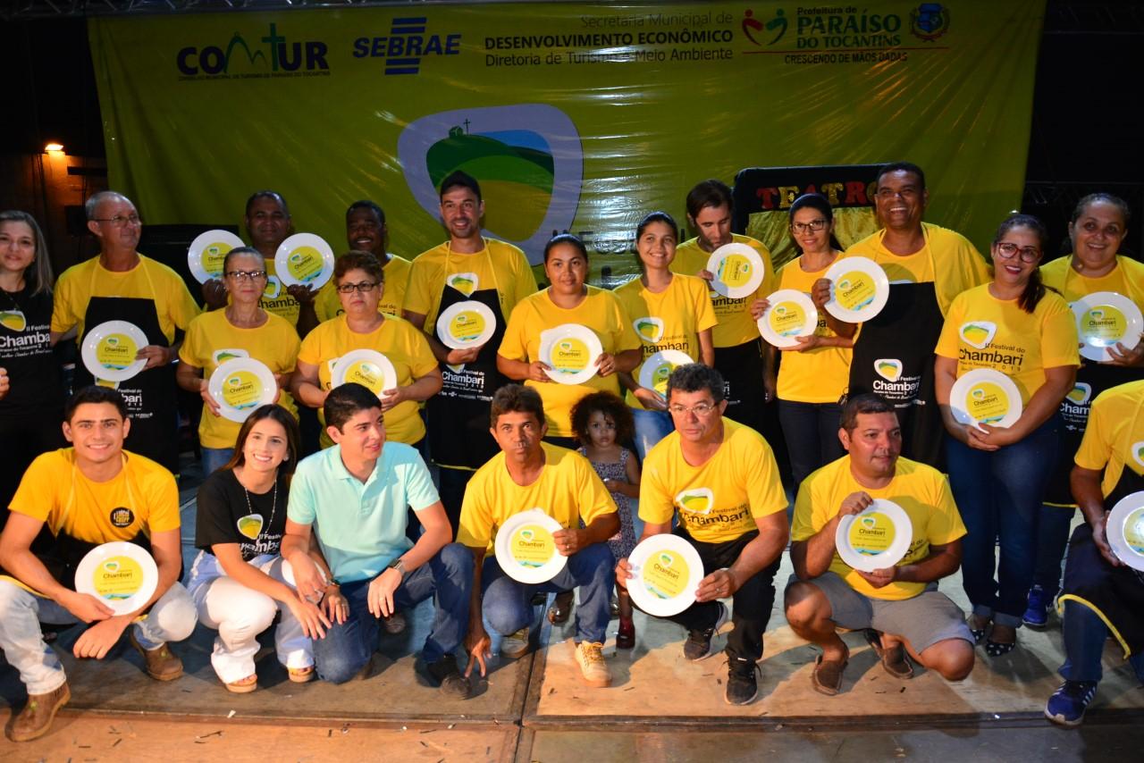 Organizadores e expositores comemoram sucesso do II Festival do Chambari