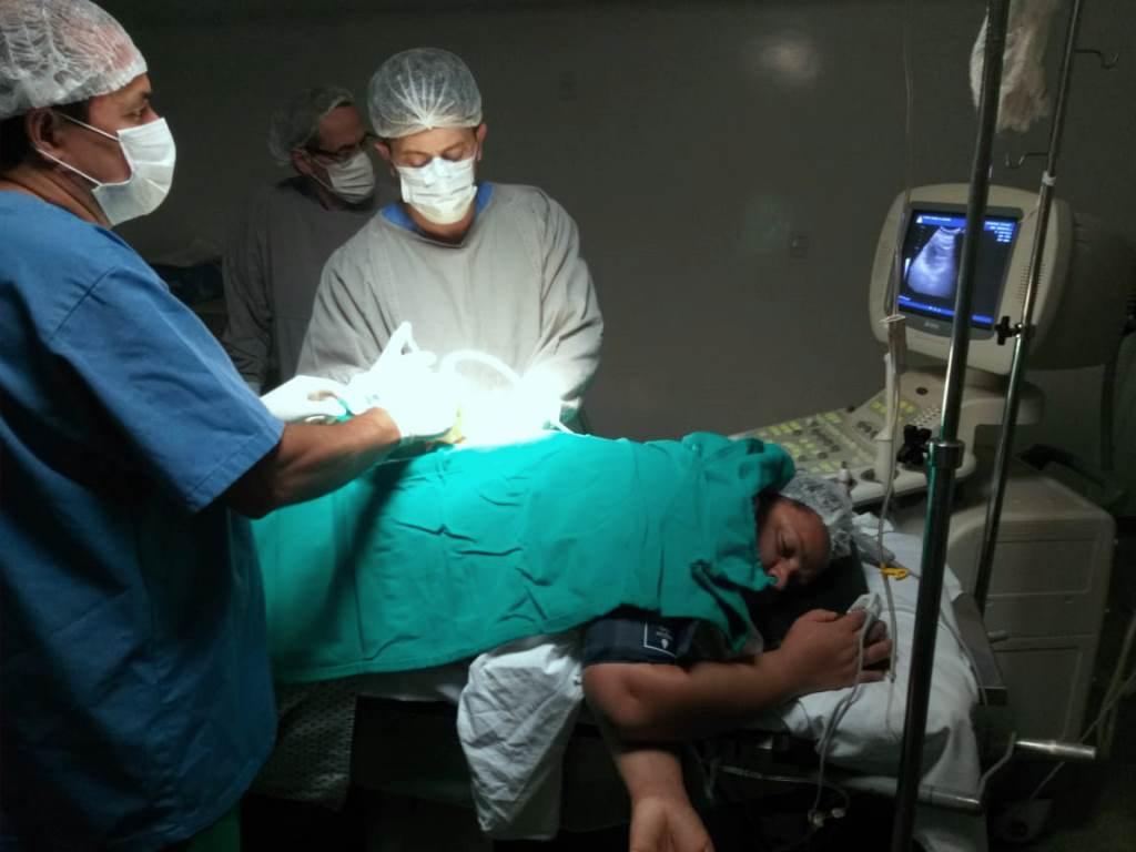 Hospital Regional de Miracema realiza a primeira nefrostomia percutânea guiada por ultrassom
