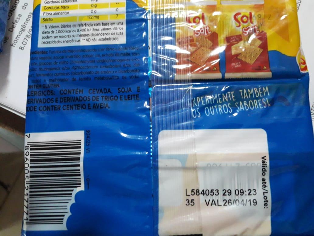 Produtos alimentícios são maioria durante apreensão realizada pelo Procon Tocantins