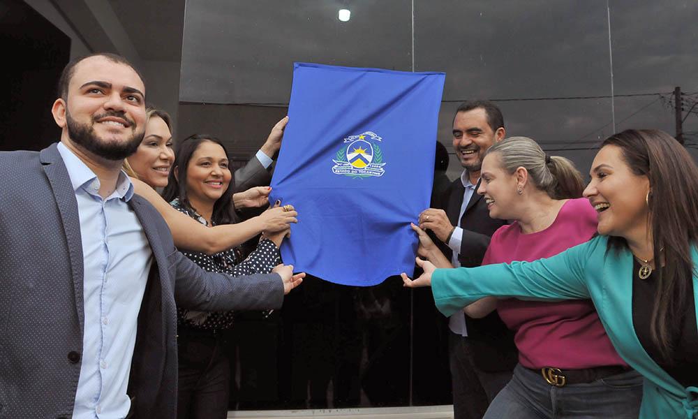 Vice-governador Wanderlei Barbosa inaugura Central de Atendimento à Mulher em Palmas