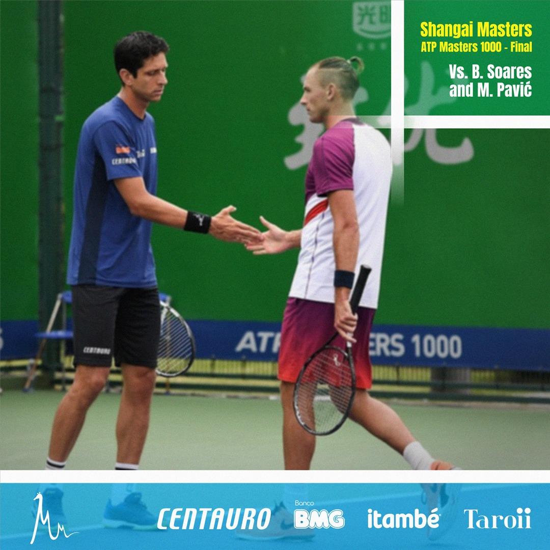 Marcelo Melo busca bicampeonato com Lukasz Kubot e quarto título no Masters 1000 de Xangai