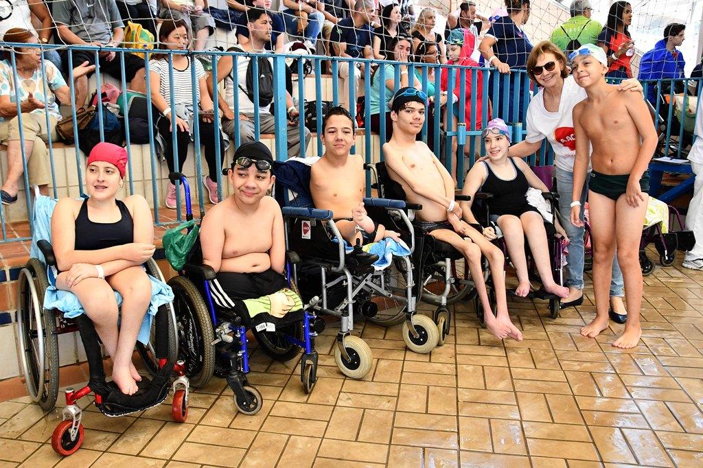 Skate é novidade em competição estudantil com 4 mil crianças e jovens no Centro Paralímpico
