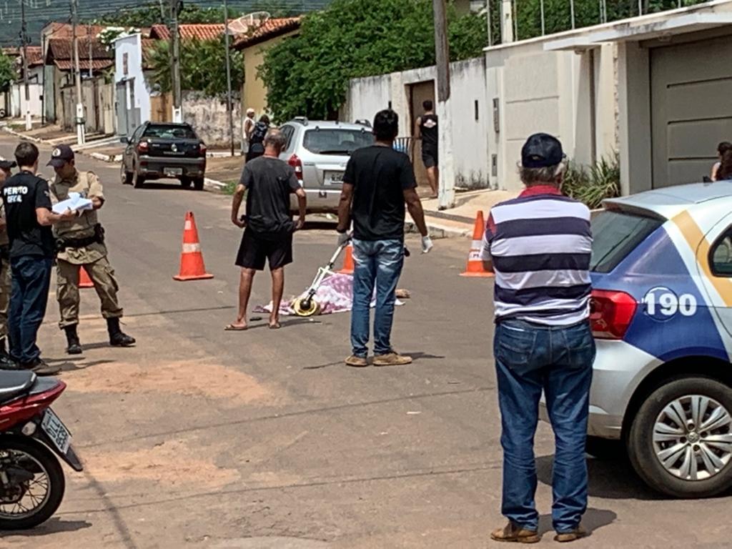 Ciclista morre em acidente em Paraíso do Tocantins