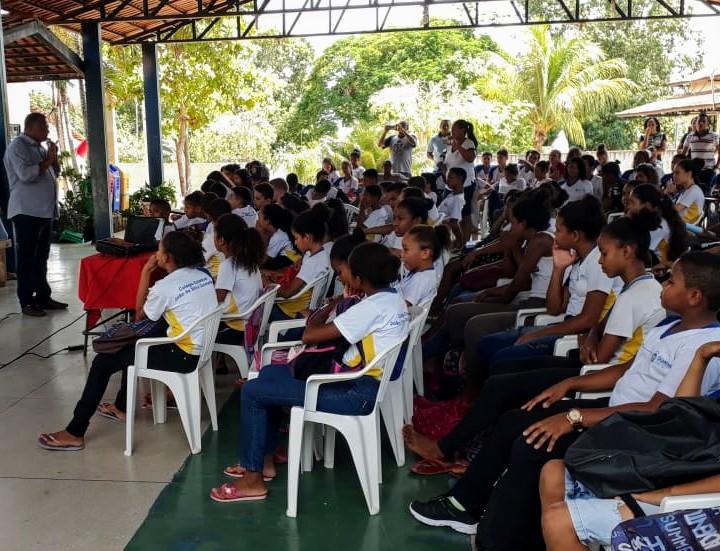 Estudantes de Silvanópolis recebem orientações do Governo do Tocantins sobre direitos violados