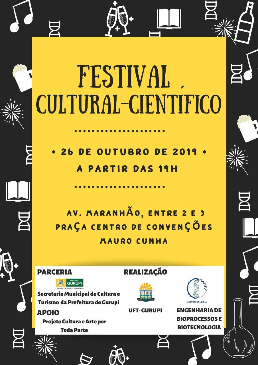 Parceria entre a Secretaria de Cultura e UFT resulta no primeiro Festival Cultural-Científico de Gurupi