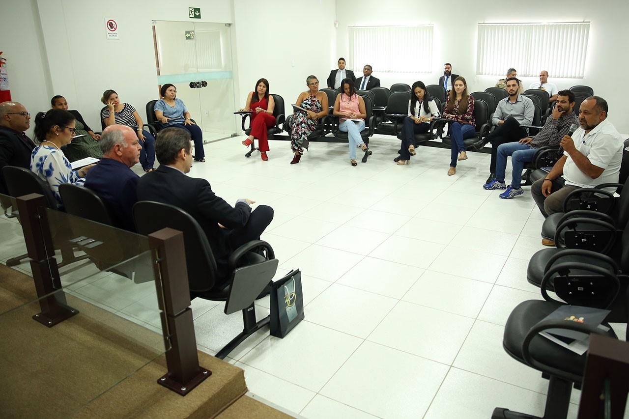 Em Ananás, presidente do TJTO convoca população para participar do planejamento estratégico do Poder Judiciário