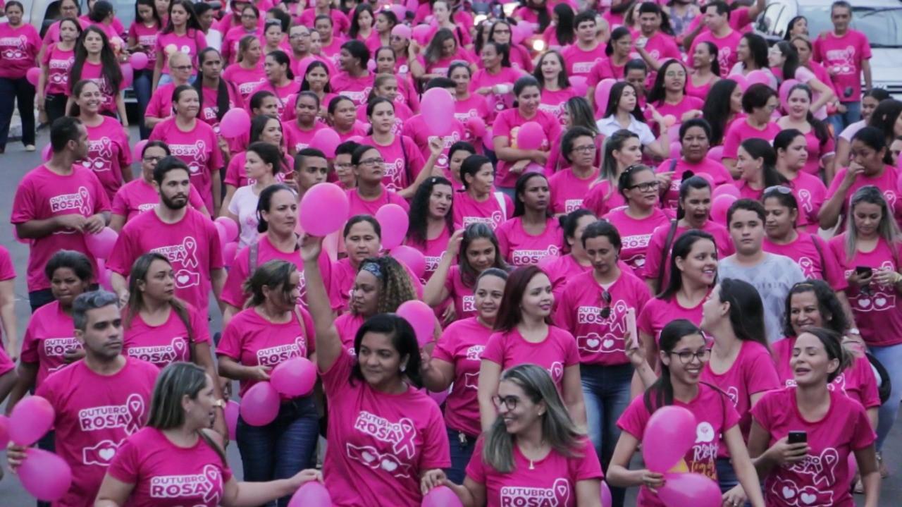 Prefeitura de Gurupi intensifica campanha de conscientização de combate ao câncer de mama