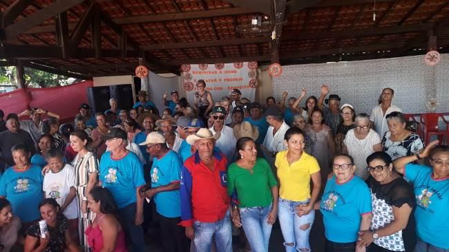 Prefeitura de Marianópolis promove festa em comemoração ao Dia do Idoso