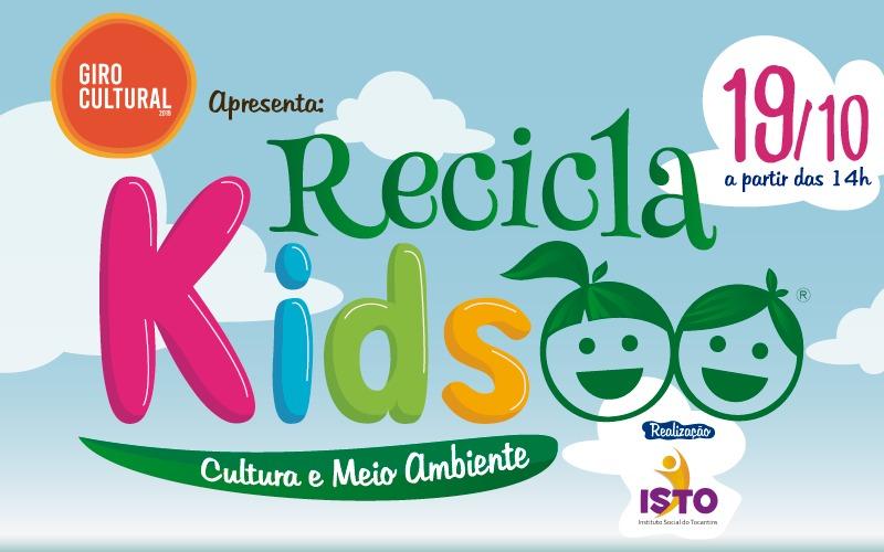 Fundação Cultural de Palmas apoia o Recicla Kids, evento em comemoração ao Dia da Criança
