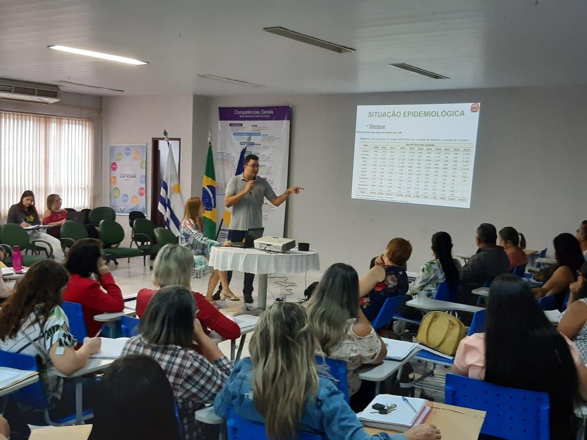 SES apresenta dados sobre Dengue, Zica e Chikungunya na DRE de Palmas