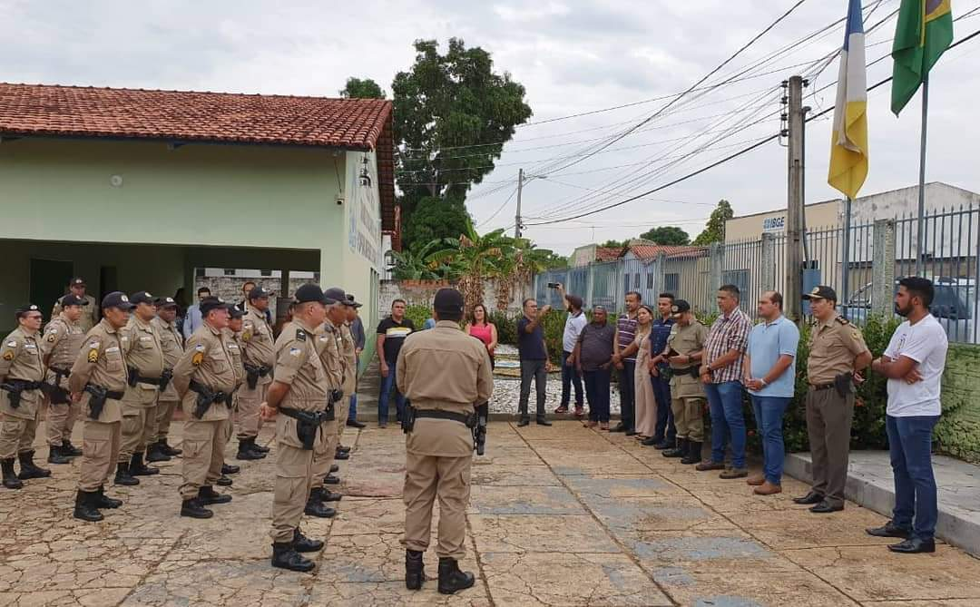 Conselho de Segurança de Miracema recebe visita técnica de outros municípios