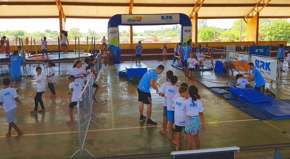 Circuito Esportivo BRK passa por Miracema do Tocantins com atividades para jovens e crianças