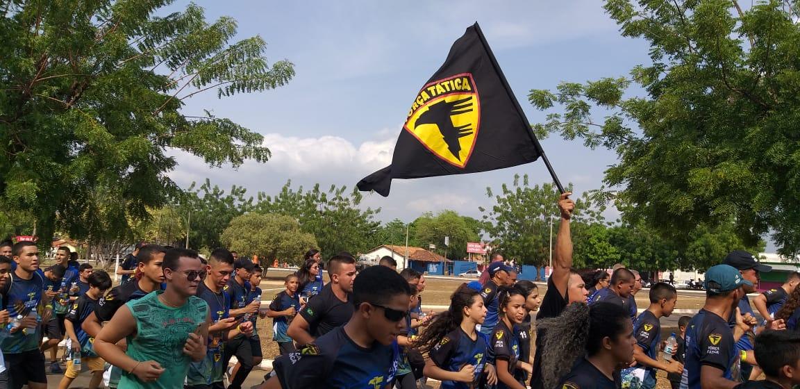 9º BPM realizou a III edição da Corrida beneficente com a Força Tática voltada ao Dia da Criança em Araguatins