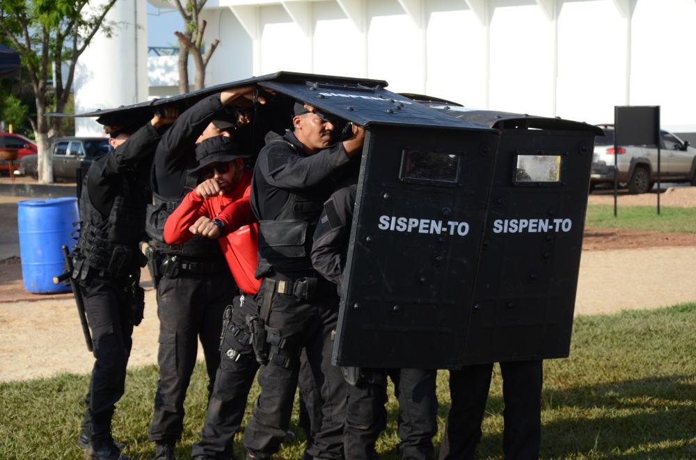 Governo do Tocantins promove Curso de Formação do Grupo de Intervenção Rápida do Sistema Penitenciário