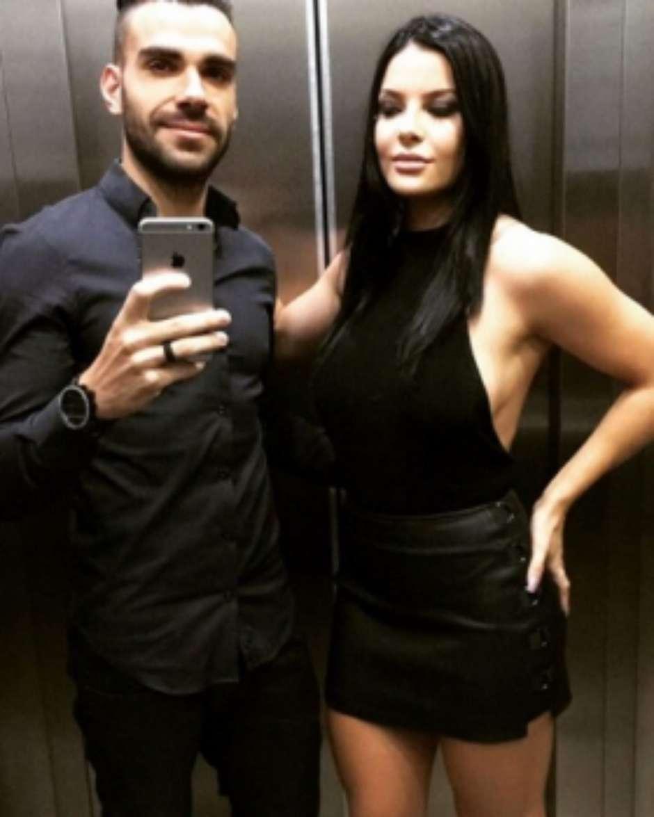 Esposa do volante Bruno Henrique do Palmeiras é agredida por torcedores