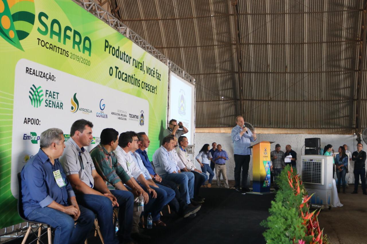 Plantio Safra 2019/2020 é lançado oficialmente em Palmas