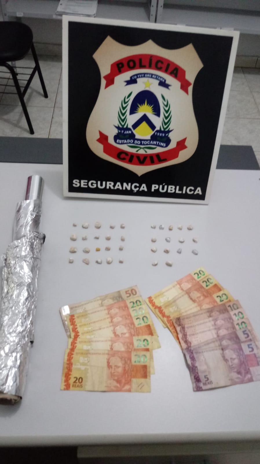 Polícia Civil desarticula ponto de venda de drogas e prende dois traficantes em Itacajá