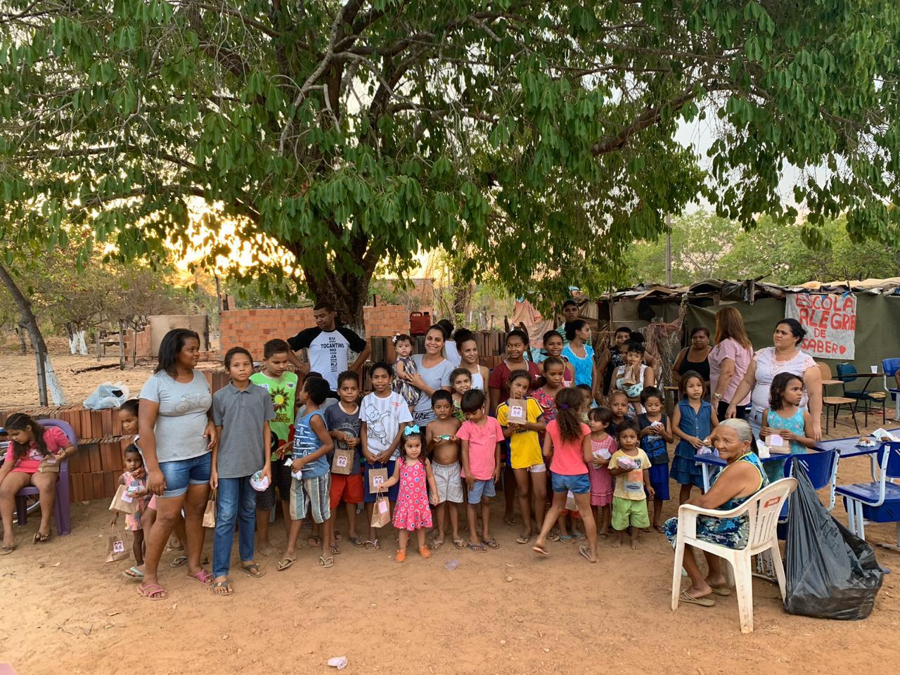 Mobilização está em curso para auxiliar projeto Escola Alegria de Saber em Miracema do Tocantins
