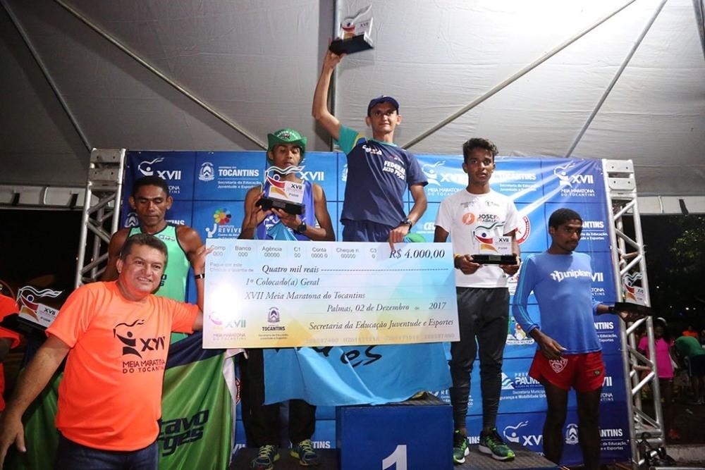 Meia Maratona do Tocantins recebe inscrições até domingo, 6