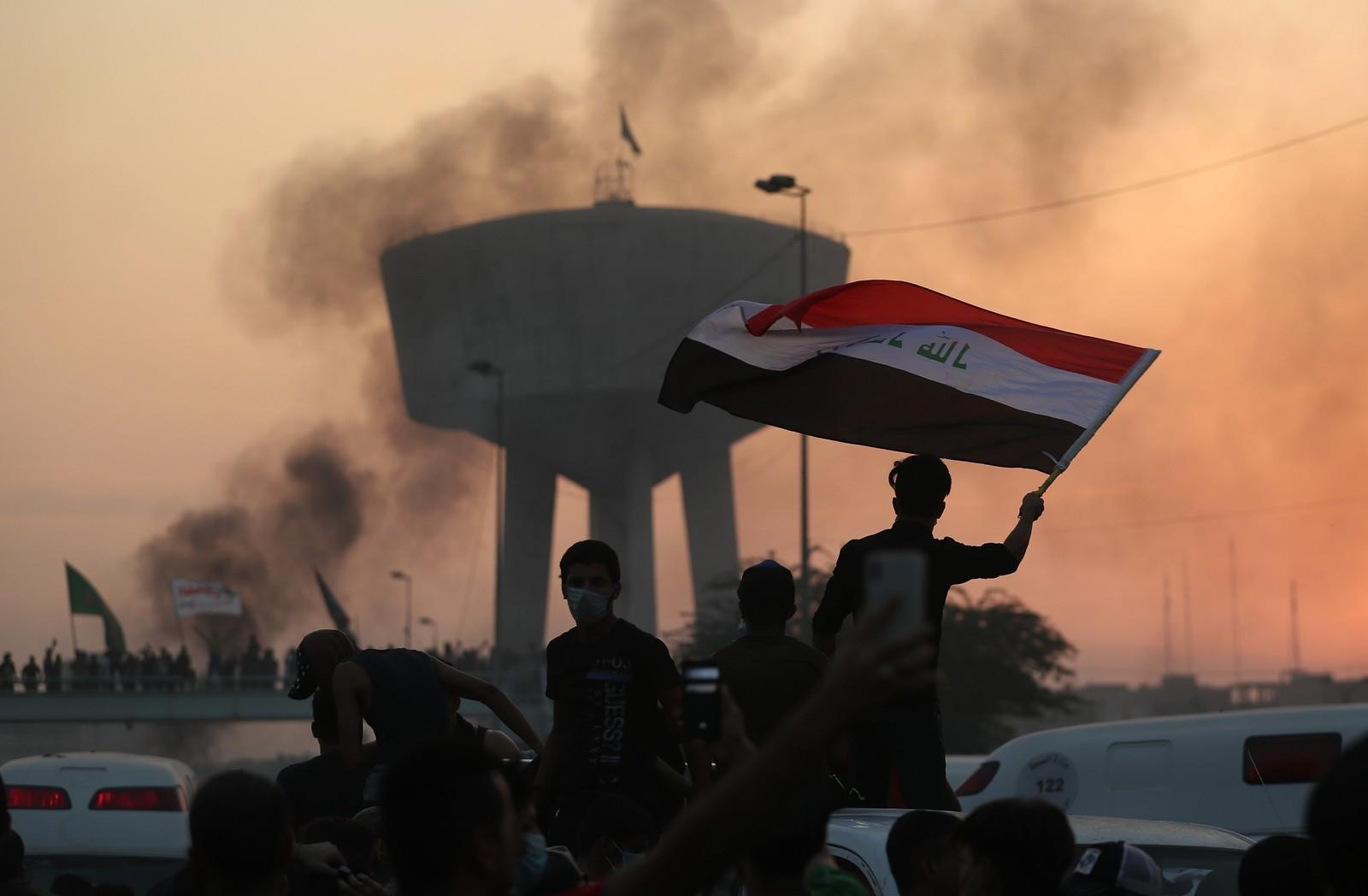 Ataque contra manifestantes no Iraque mata 18 pessoas