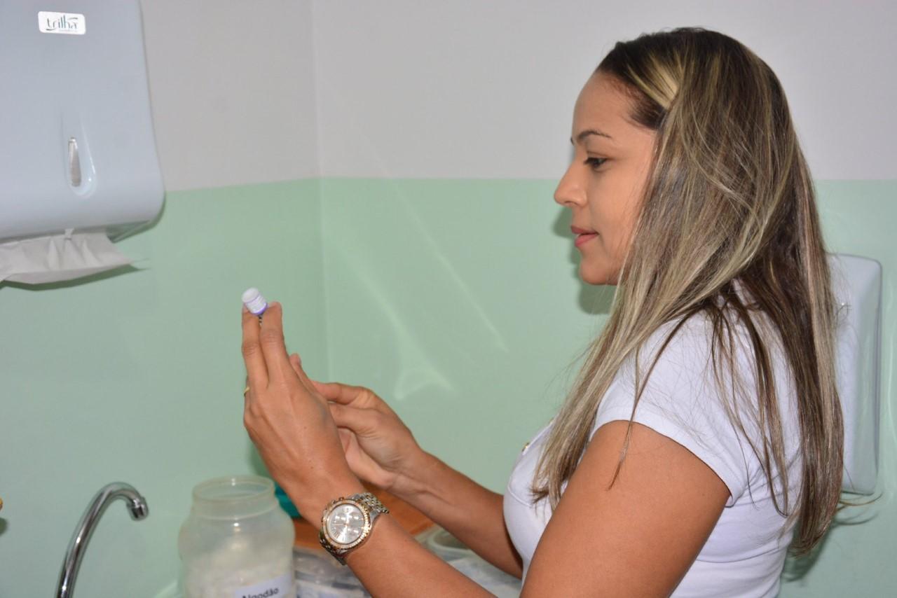 Prefeitura de Paraíso realizou mais um dia de mobilização Campanha Nacional de Vacinação contra o Sarampo