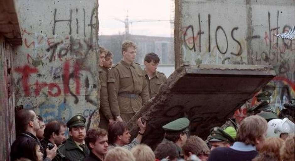 Queda do Muro de Berlim completa 30 anos