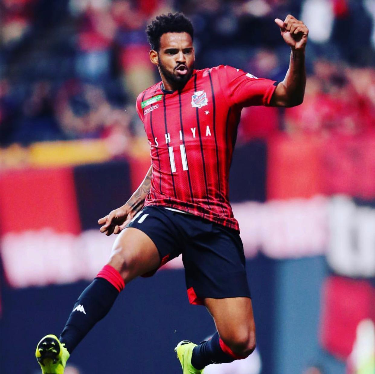 Entre as maiores médias de gols do Japão em 2019, Anderson Lopes valoriza números no país