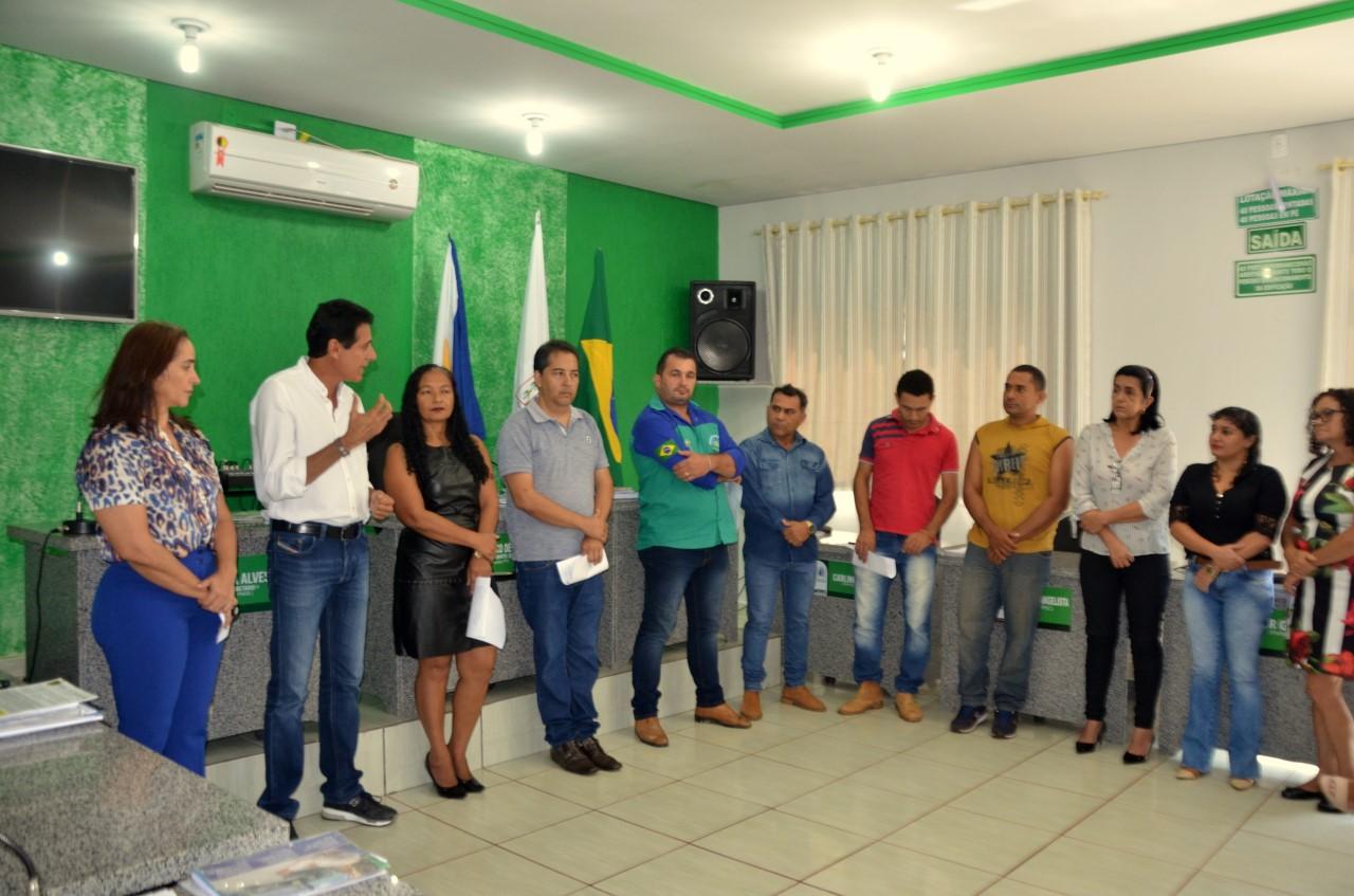 Presidente Nilton Franco participa de reunião do MDB em Abreulândia TO