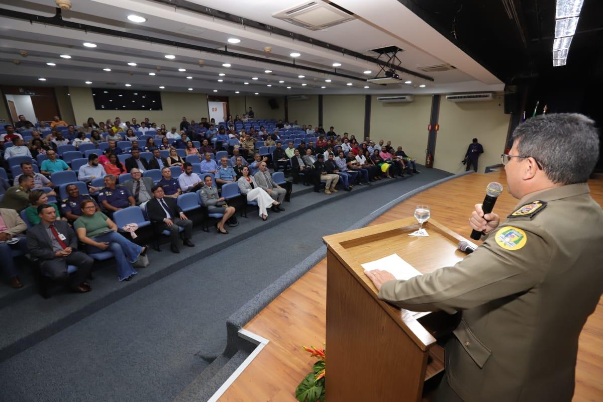 Abertura do III Seminário Internacional de Polícia Comunitária do Estado do Tocantins acontece em Palmas