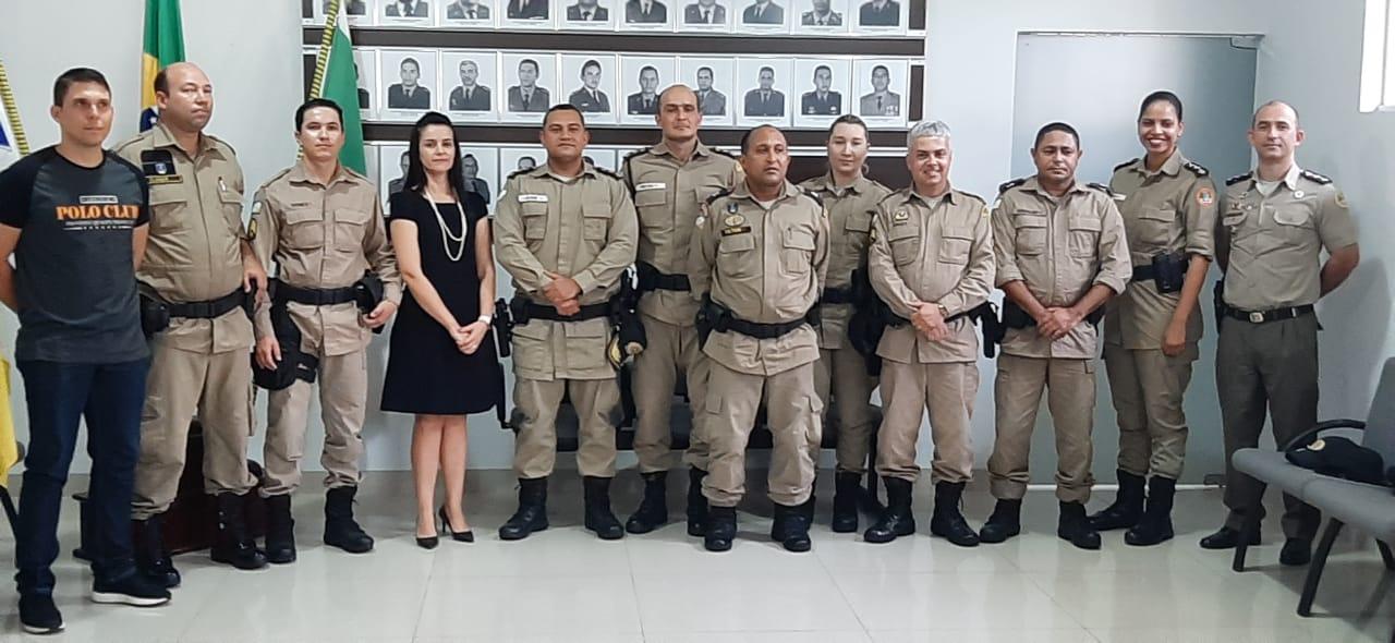 Policiais militares concluem curso da Patrulha Maria da Penha em Gurupi