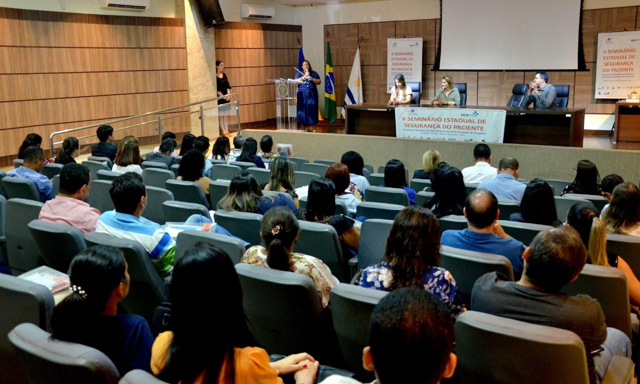 Seminário Estadual debate a segurança do paciente