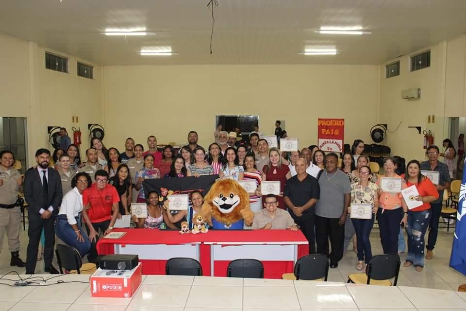 Prefeitura de Cristalândia e Polícia Militar promovem curso 'Proerd Pais Comunitários'
