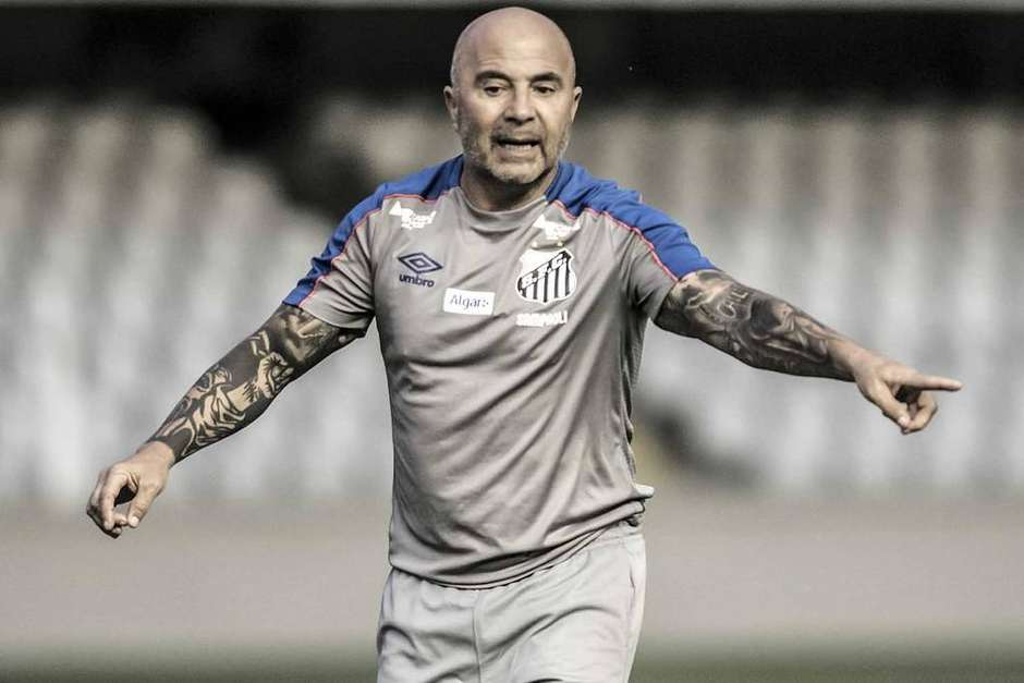 """Sampaoli não deve permanecer no Santos: """"Não quero enganar"""""""