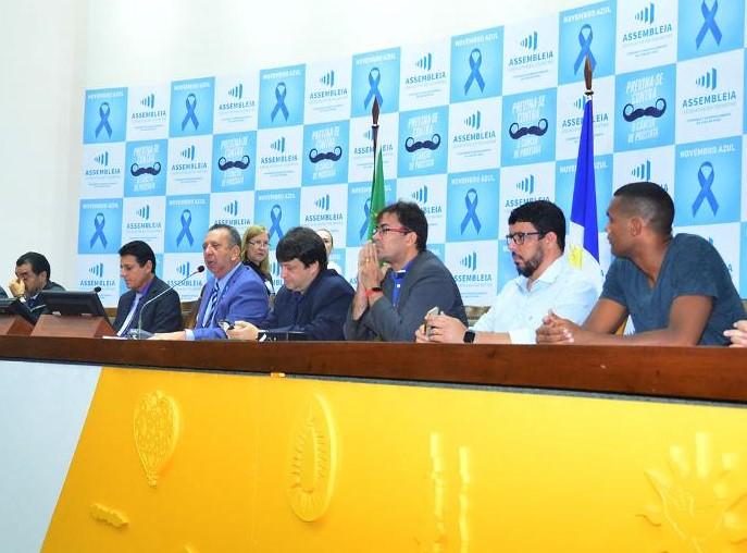 Secretário de Esporte e Juventude, Osmarivan Moreira participa de Audiência Pública na Assembleia Legislativa